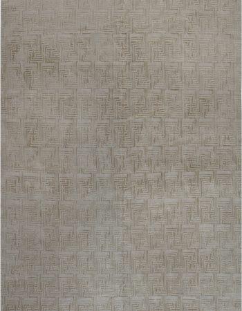 Geo Henley Rug in Silver Grey N12119