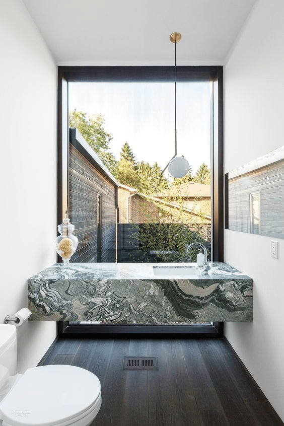 spring-interior-decor-trends green marble