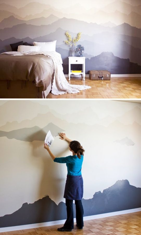 bold-wall-paint diy