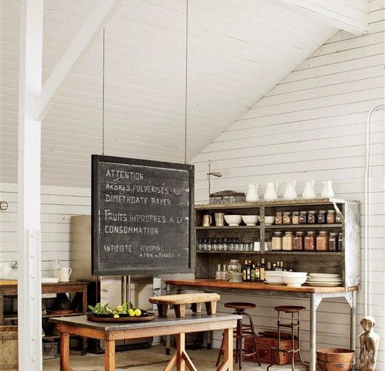 Live like Ellen DeGeneres: 5 Décor Tips For Chic Farmhouse