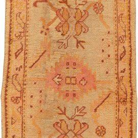 Antique Turkish Oushak Runner BB5403