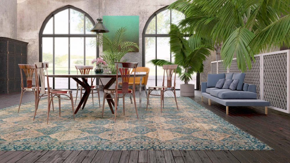 Interior Design by DLB rug R10001