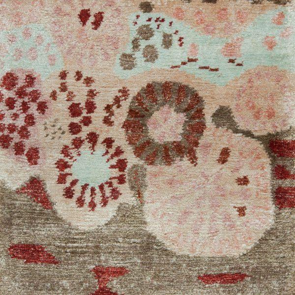 Floral Custom Rug Design S10176 S10176