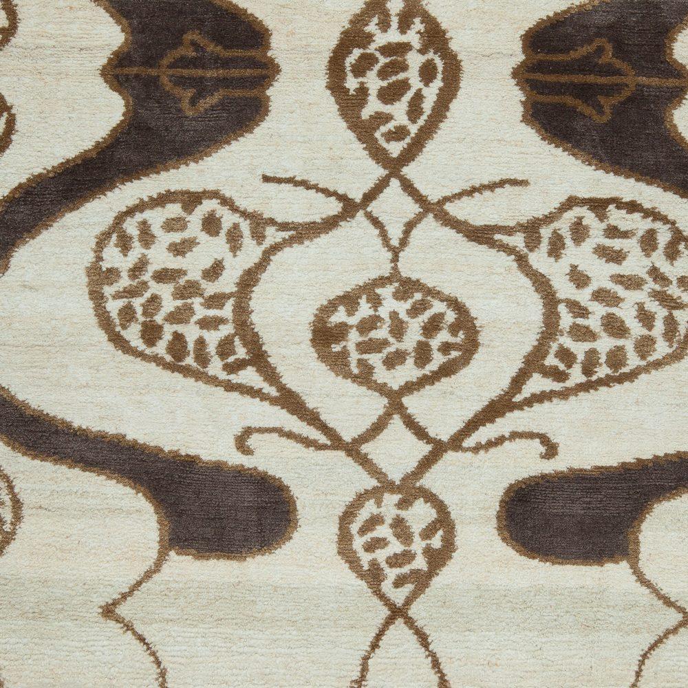 Floral Custom Rug Design S11285