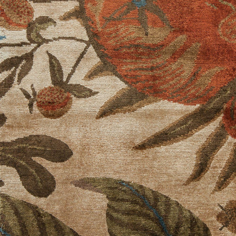 Floral Custom Rug Design S11802
