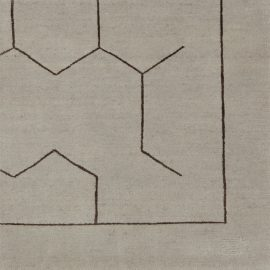 Custom Rug – Lines and Space S16637