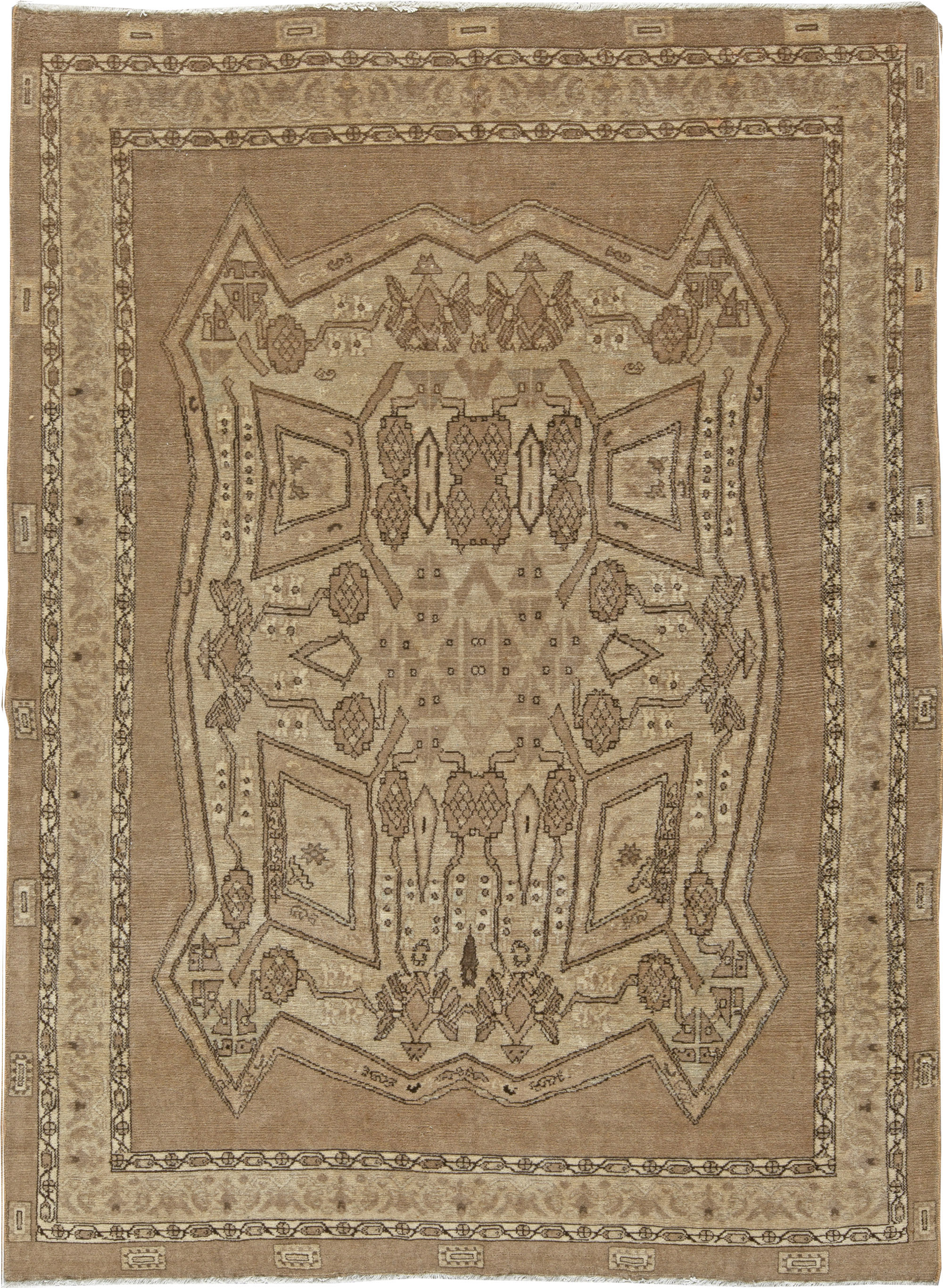 Antique Persian Bakhtiari Rug BB5418