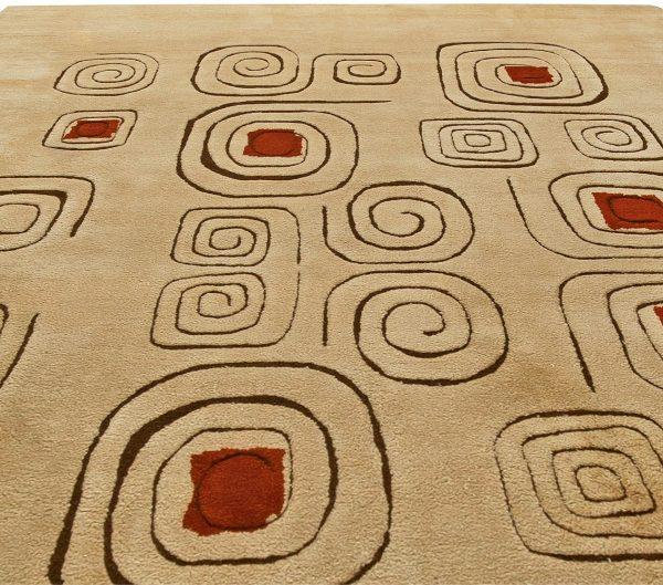 Deco Vintage Rug (Churos) signed by Olga Fisch BB6072
