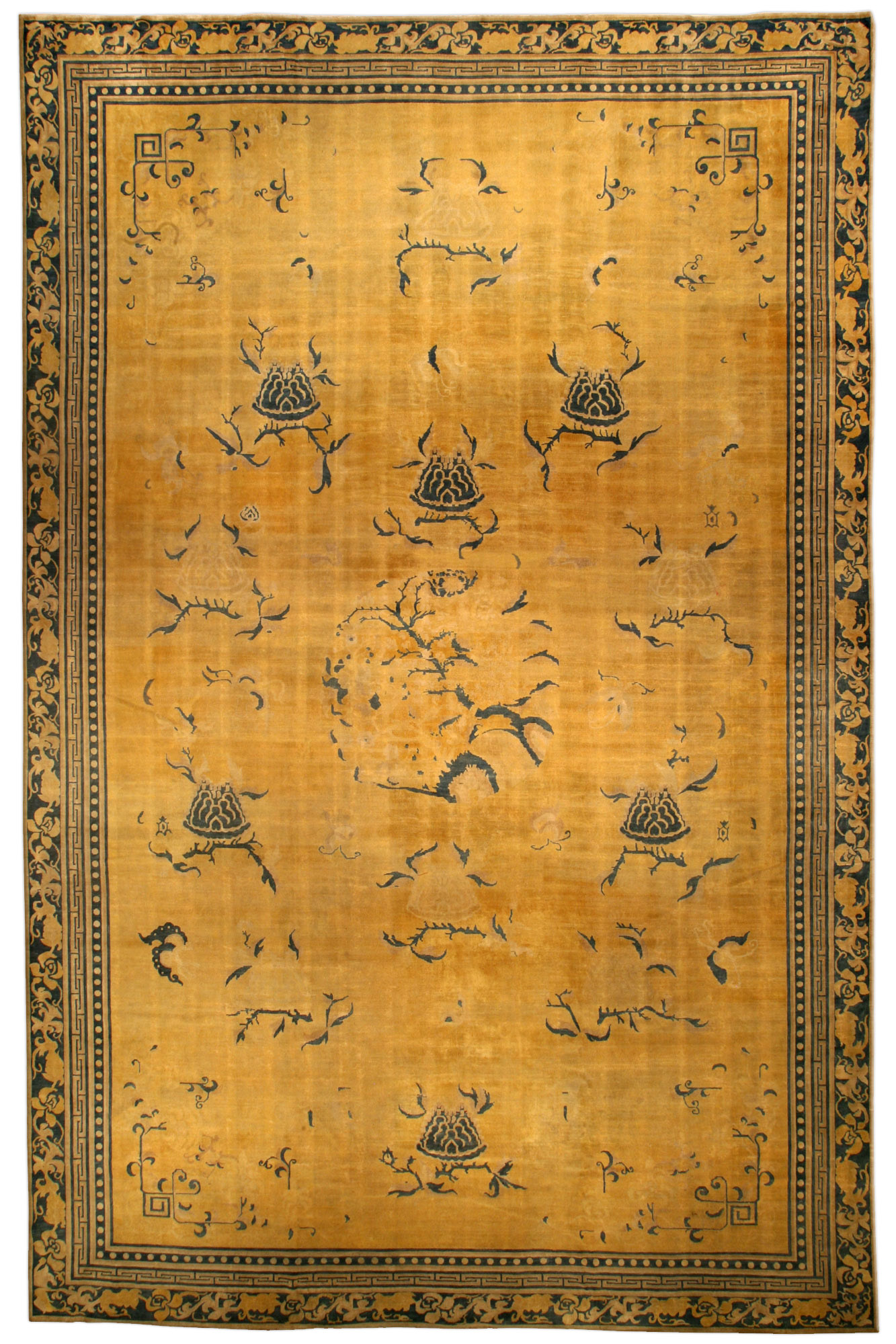 Vintage Chinese Rug Bb3056 By Dlb