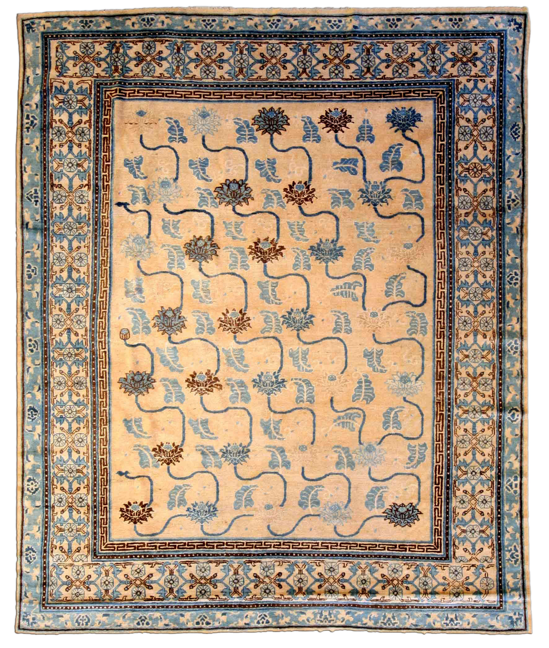 Vintage Chinese Carpet BB3968