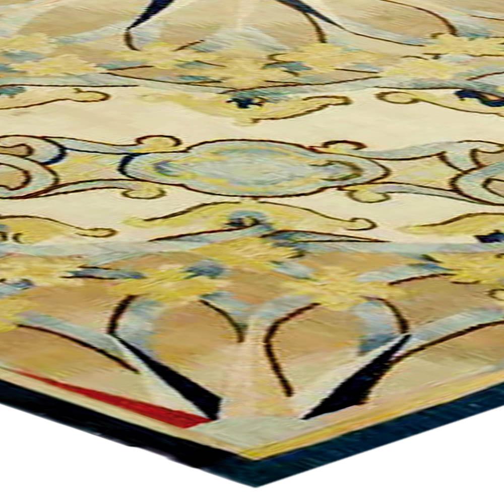 Antique French Aubusson Fragment Carpet BB1313