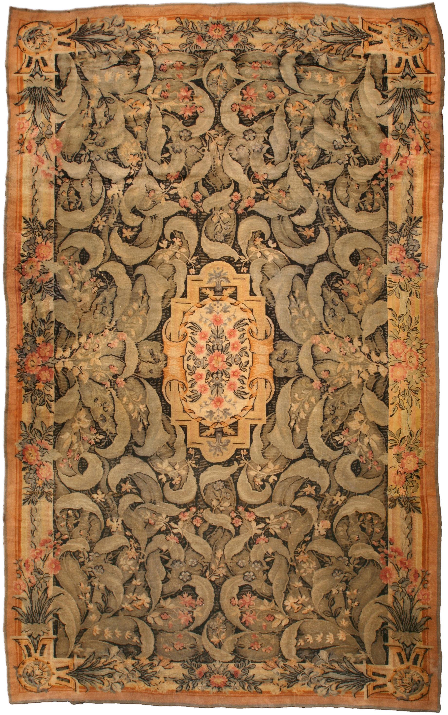 Antique Savonnerie Carpet BB3223