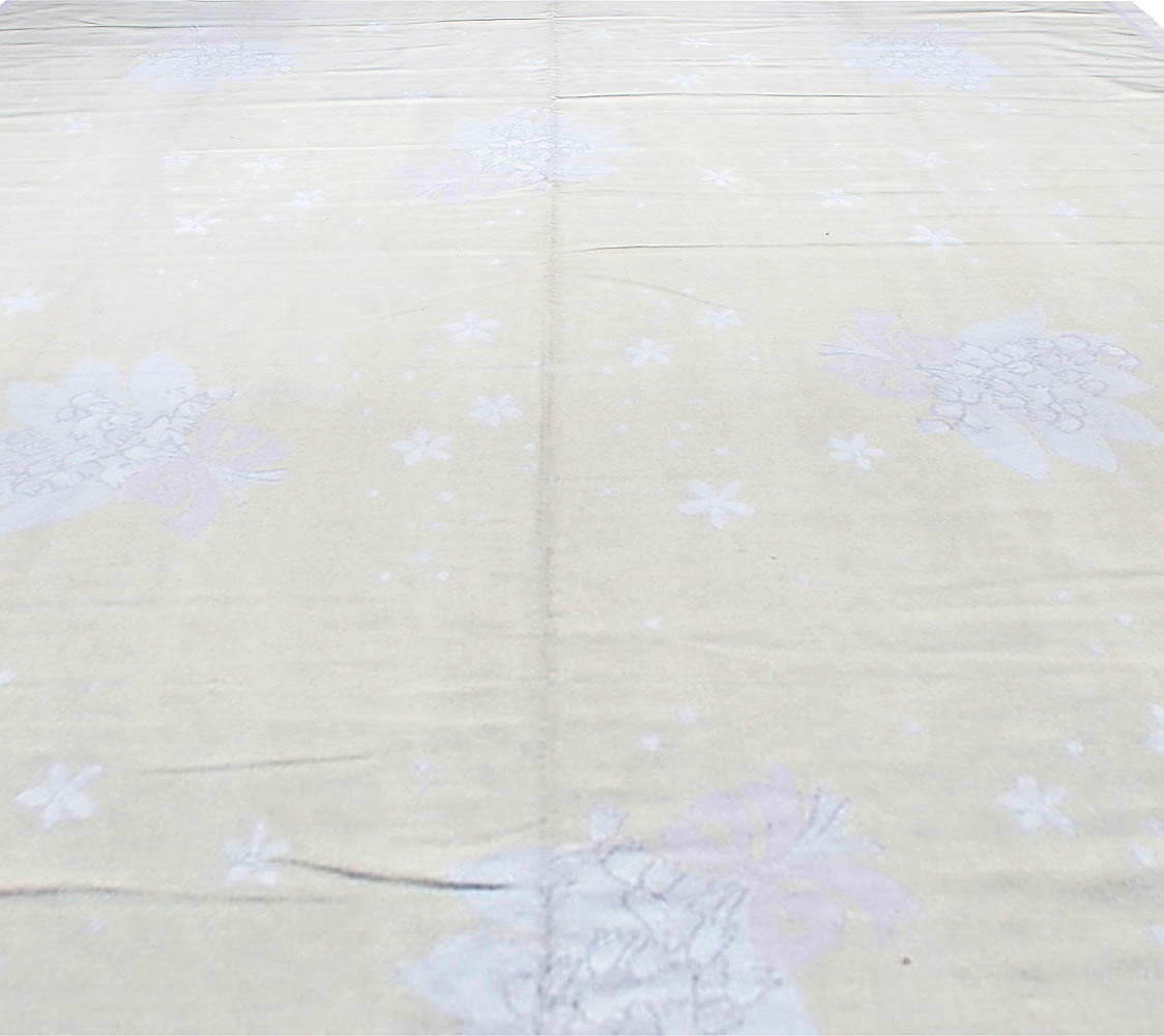 Antique French Aubusson Rug BB0291