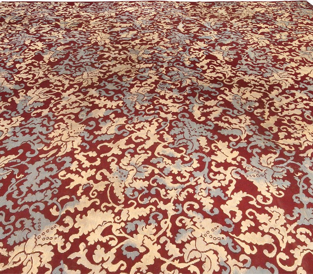 Antique French Aubusson Rug BB0156