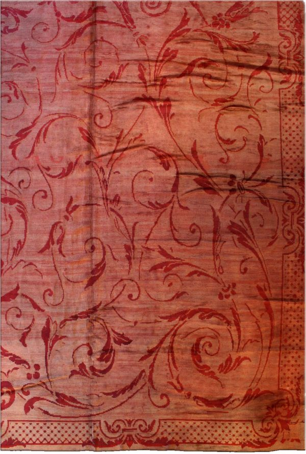Antique French Savonnerie Rug BB0715
