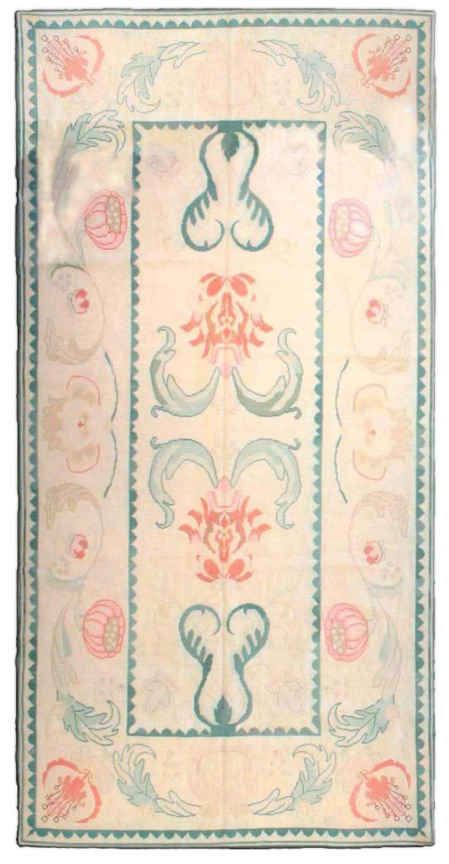 Antique Needlework Carpet BB2365