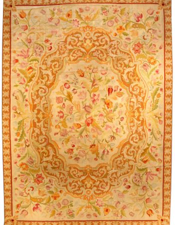 Antique Needlework Carpet BB3551