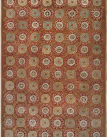 Vintage European Silk Table Carpet BB4871