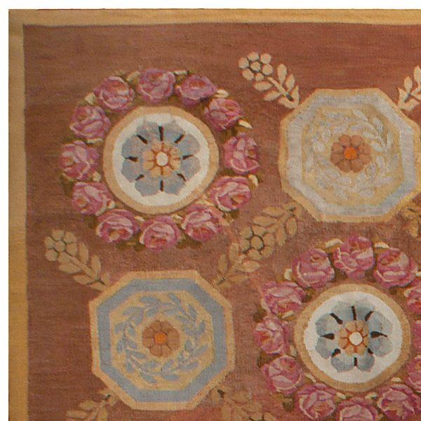 Francês antigo Aubusson Tapete BB4930