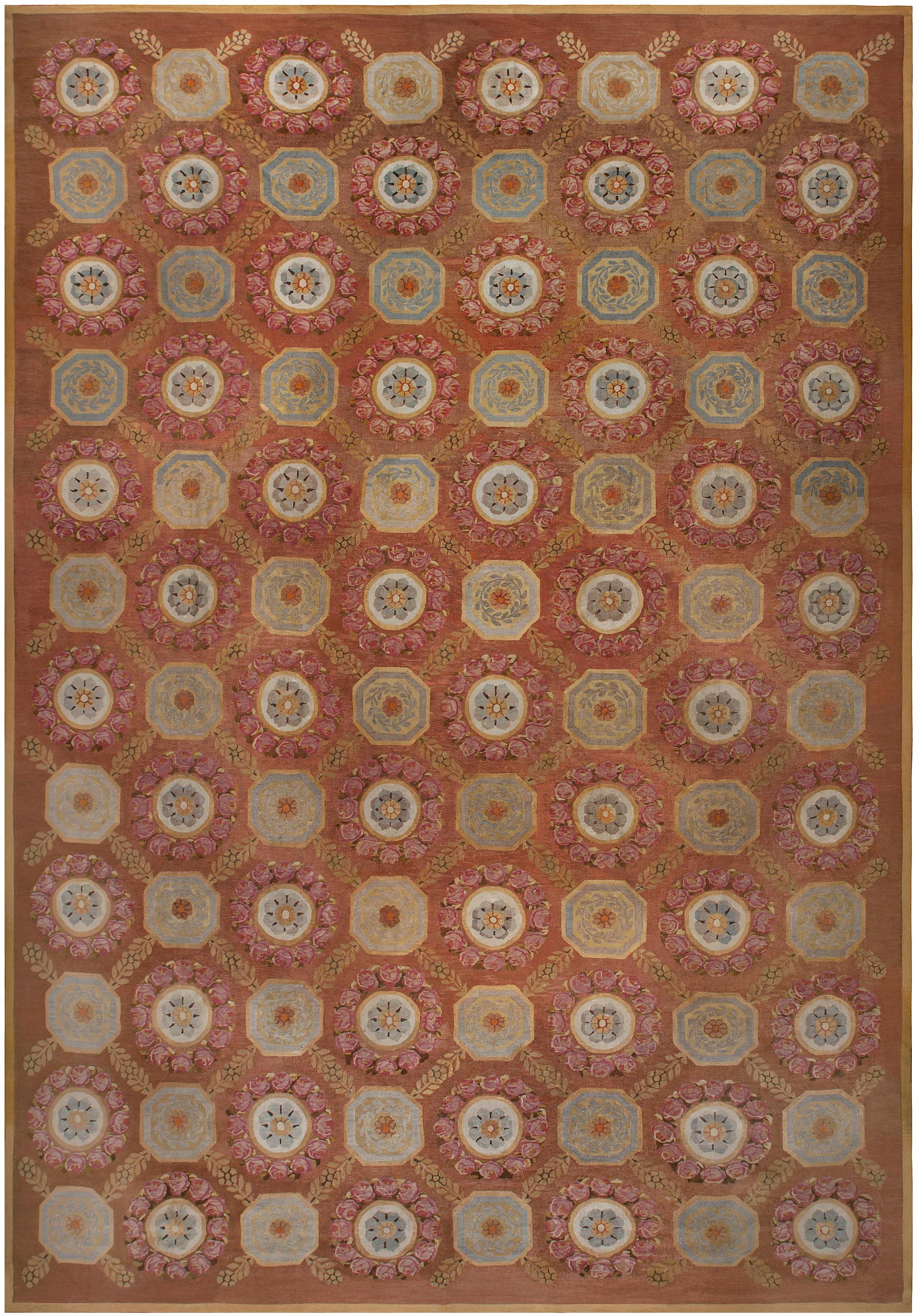 Antique French Aubusson Carpet BB4930
