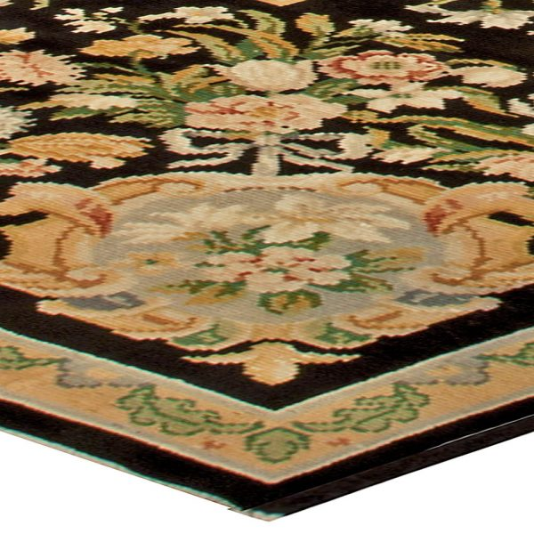 Antique French Savonnerie Rug BB4926