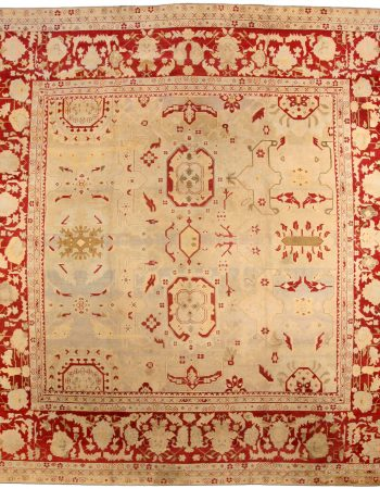 Antiguidade indiana Agra Rug BB3576