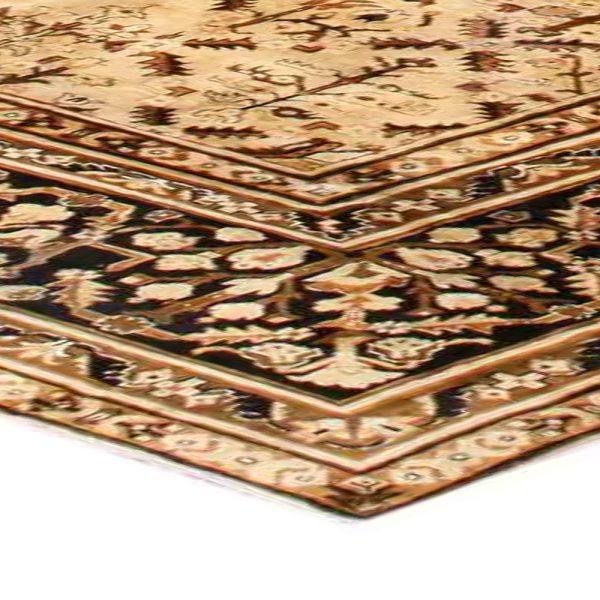 Antique Indian Agra Carpet BB2727