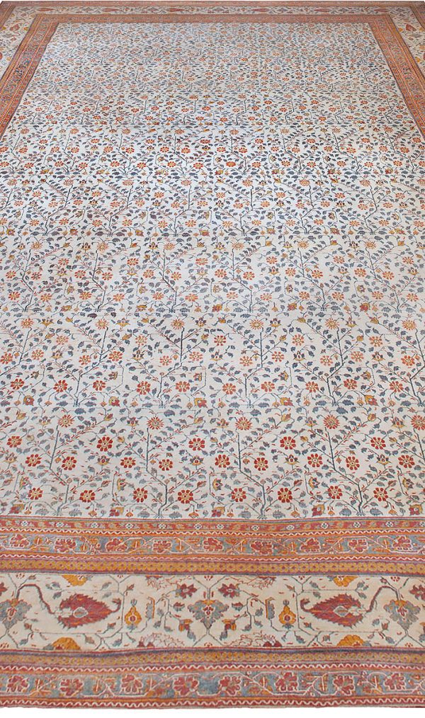 Extra Large Antique Indian Agra BB4883