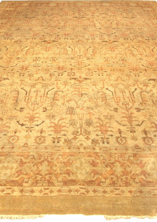Antique Indian Amritsar Rug BB4825