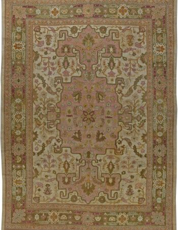 Antique Indian Amritsar Rug BB5722