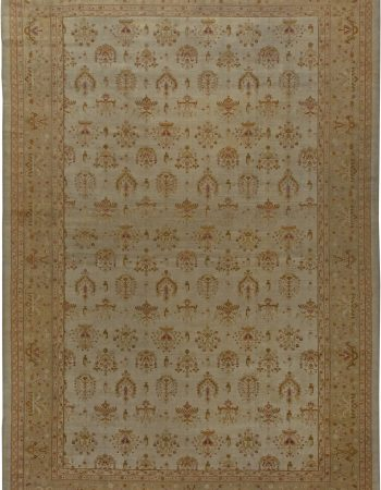 Antique Indian Amritsar Carpet (size adjusted) BB5751