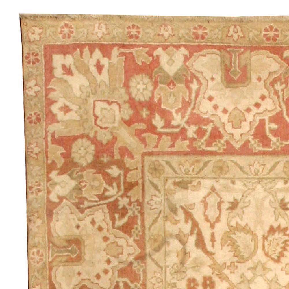 Antique Indian Amritsar Carpet BB1956