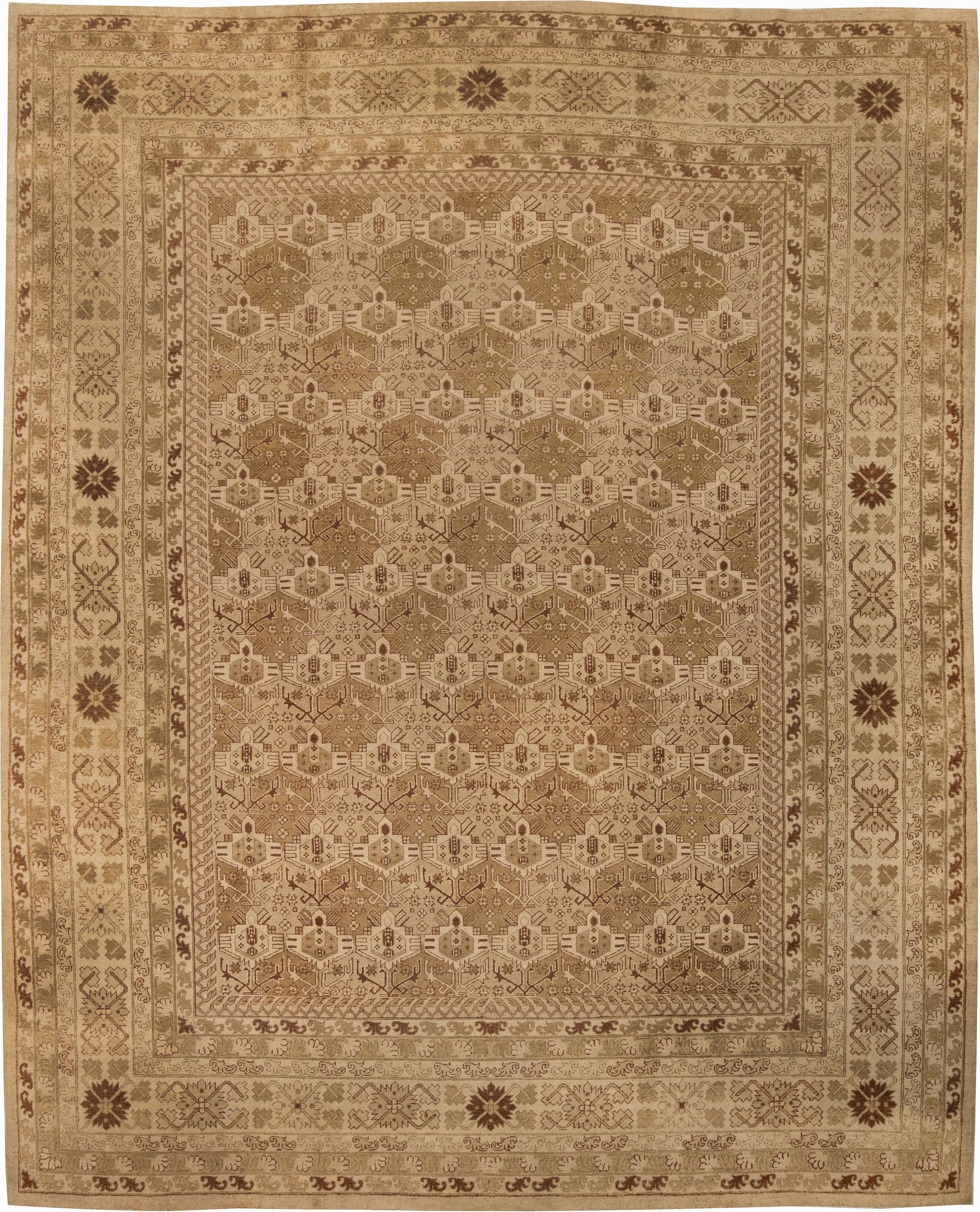 Antique Indian Amritsar Carpet BB4095