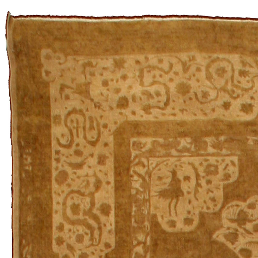 Antique Indian Amritsar Rug BB4225