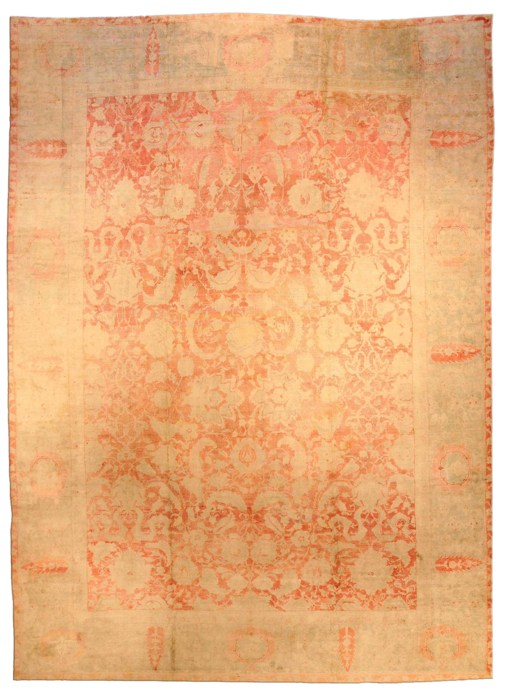 Antique Indian Cotton Agra Carpet BB1917