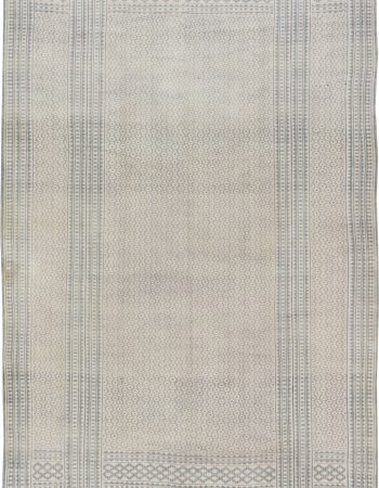 Antique Indian Cotton Flat weave  Carpet BB6386