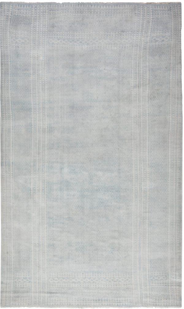 Antike indische Baumwolle Flachgewebe Teppich BB6528