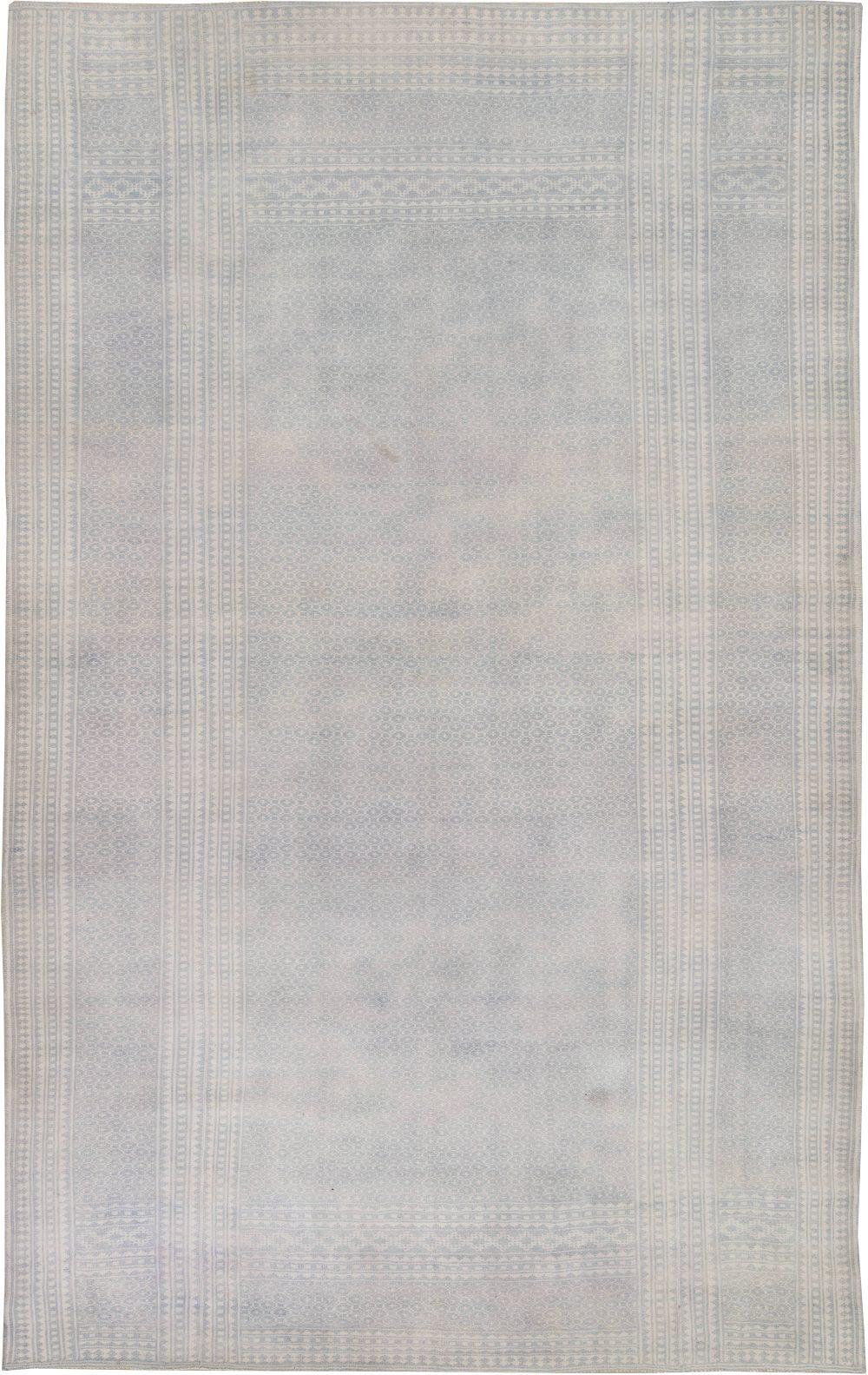 Antique Indian Cotton Flat weave Carpet BB6401