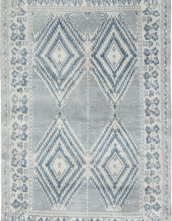 Antique Indian Cotton Agra  Rug BB6524