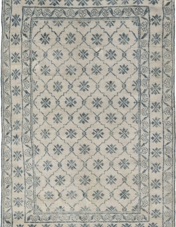 Antique Indian Cotton Agra  Rug BB6526