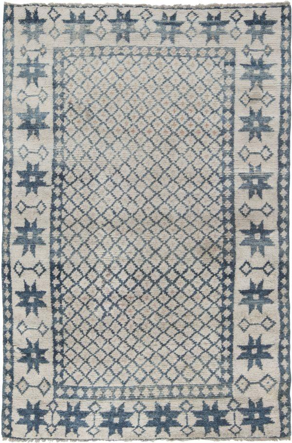 Antique Indian Cotton Agra Rug. BB6527
