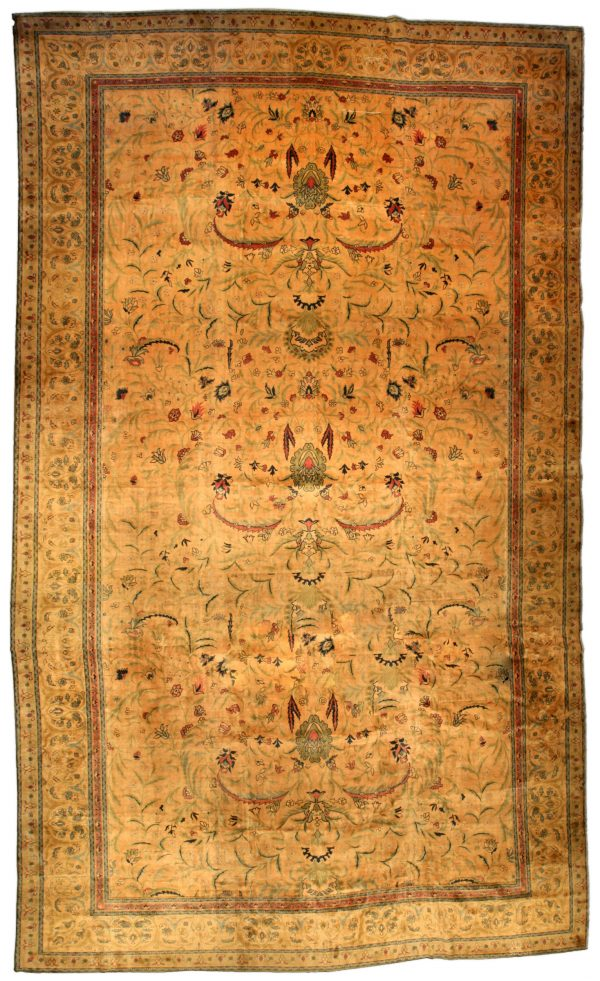 Oversized Antique Indian Carpet BB2855