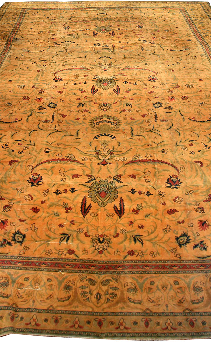 Oversized Antique Indian Carpet BB2855