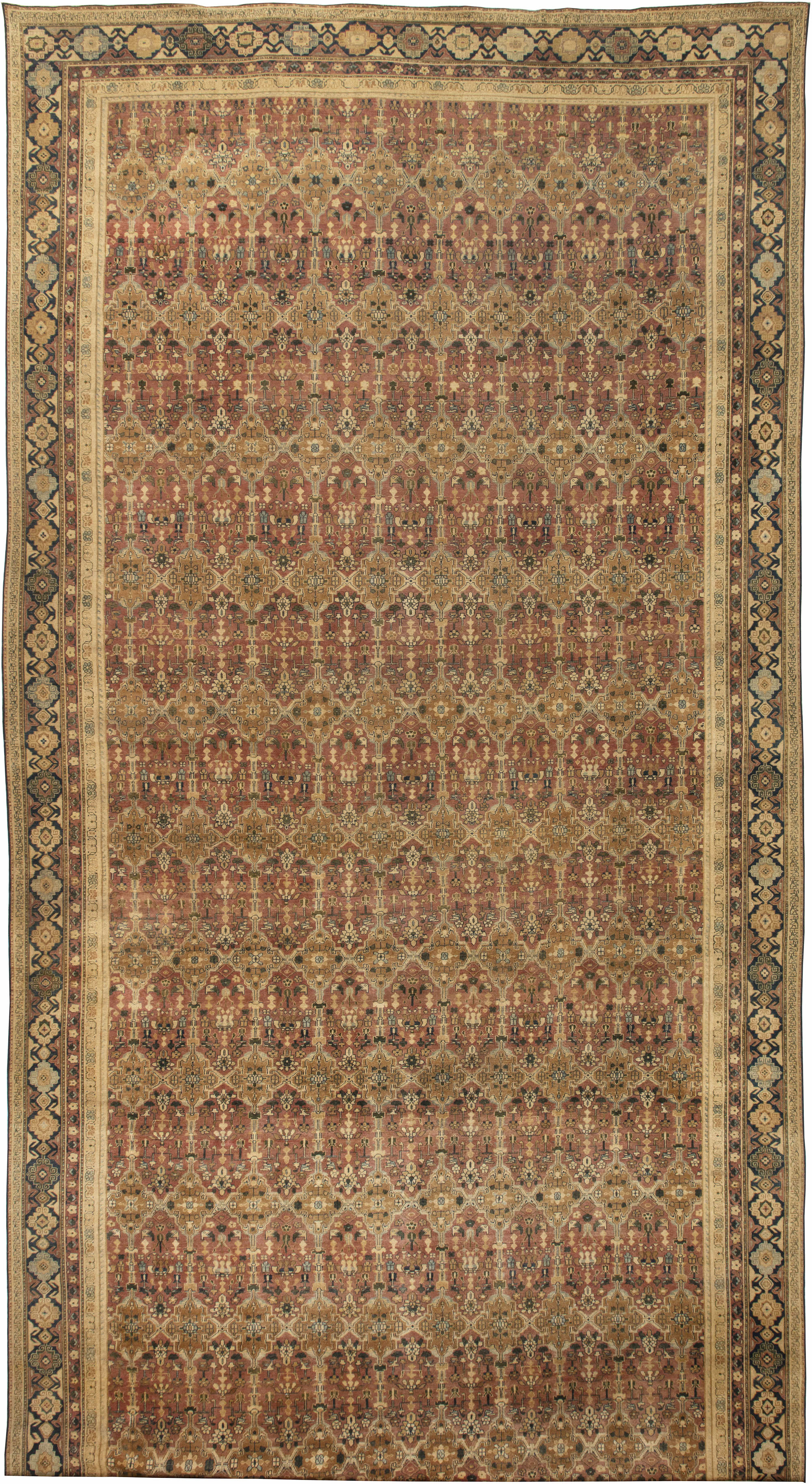 Antique Indian Carpet BB4463