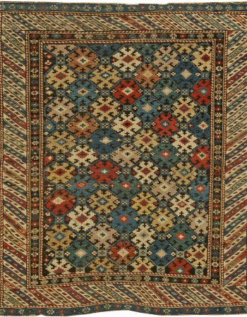 Antique Caucasian Kuba Rug BB6170