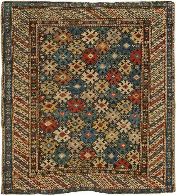 Antique Caucasiano Kuba Rug BB6170