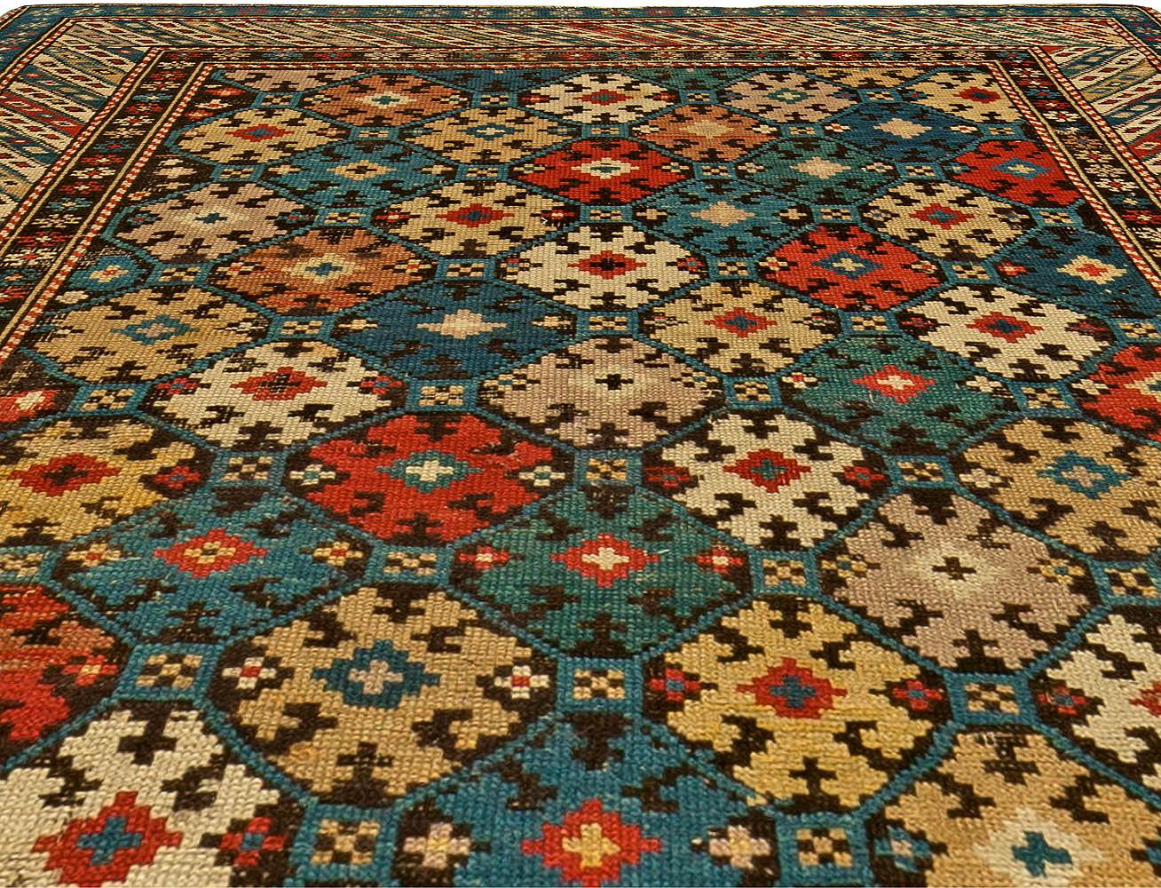 Antique Caucasian Kuba Rug BB6170