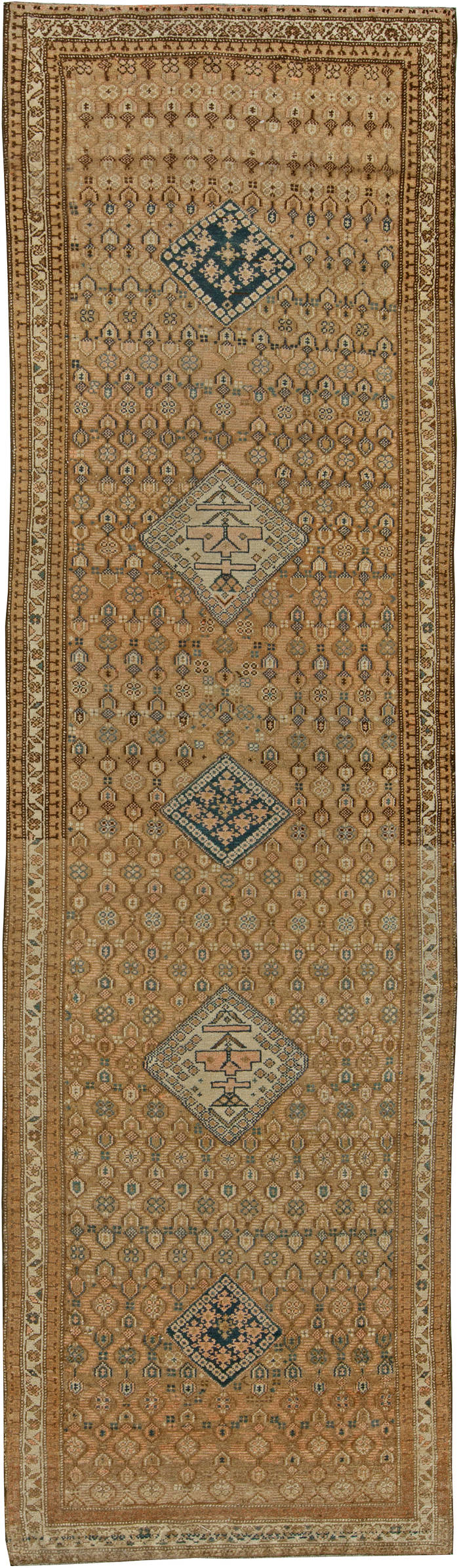 Persian Malayer Antique Runner BB6110