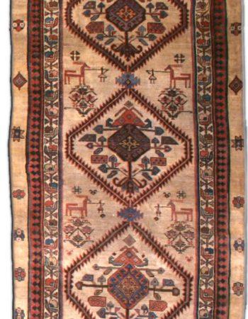 Antique Persian Camel Hair Runner BB3144