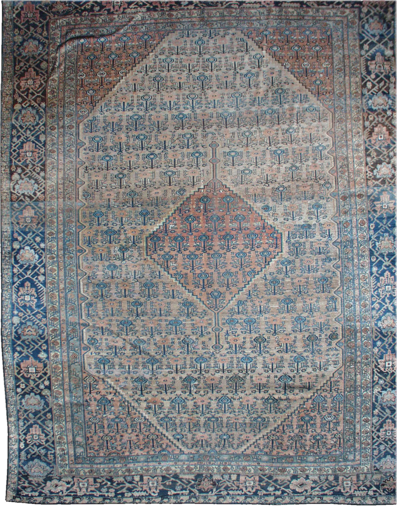 Antique Persian Heriz Rug BB1363
